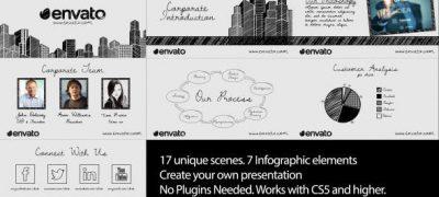 Sketch Corporate Video Pack