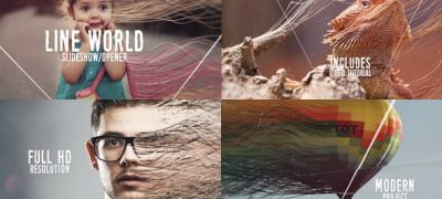 Line World Slideshow