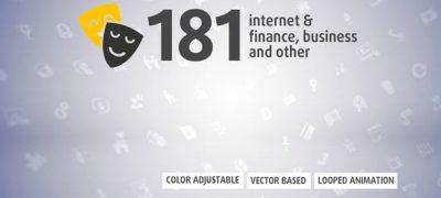 181 Animated Icons