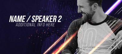 Speakers' Intro