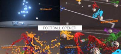 Colourful Football Opener