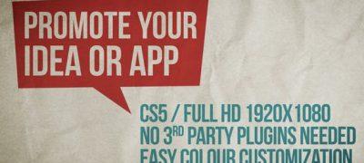 Promote Your Idea, App Or Service