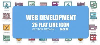 Web Development - Flat Animation Icons