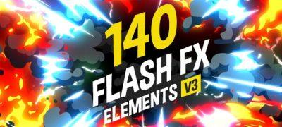 140 Flash FX Elements