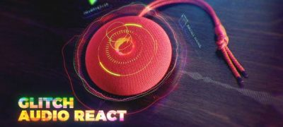 Glitch Audio React