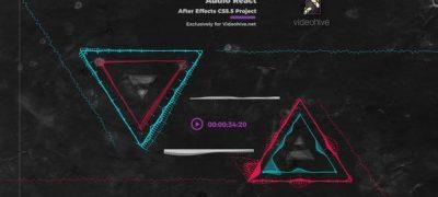 Audio React Music Visualizer