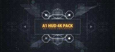 A1 HUD PACK/ Digital Interface Placeholders/ Sci-fi UI Technology/ Futuristic Iron Man Movie Screens