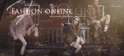 Fashion Online Shop/ Clothes Shopping Days/ Black Friday/ Cyber Monday/ Cashback Service/ Call-Outs