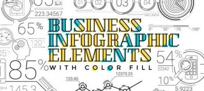 30 Line Infographic Elements