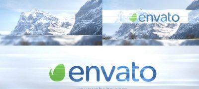 Elegance Light Photo Logo Intro