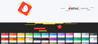 Shape Geometric Logo Intro