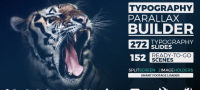 Big Typo Parallax Presentation Builder