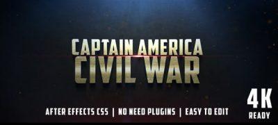 Civil War Cinematic Trailer