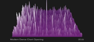 3D Audio Spectrum Visualizer