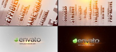 3D Titles Corporate Logo