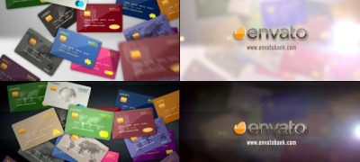 Credit Debit Prepaid Card Logo Reveal