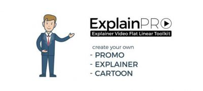 ExplainPRO. Explainer Video Flat Linear Toolkit.