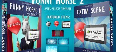 Funny Horse 2 Logo Reveal