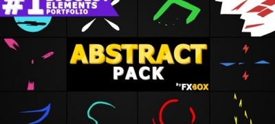 Flash FX Abstract Elements | After Effects