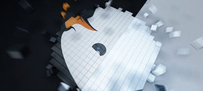 Pixel Cube Logo Reveal