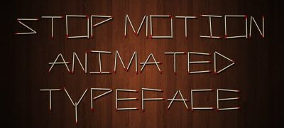 Stop Motion Typeface