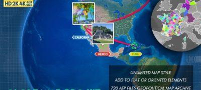 Globe Map Pro Kit