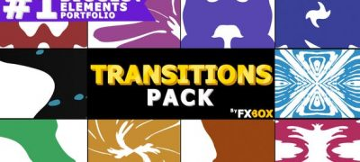 Liquid Transitions Pack | After Effects