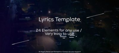 Lyrics Template and Elements