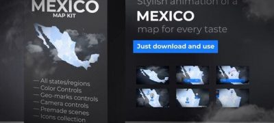 Mexico Map - United Mexican States Map Kit