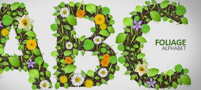 Foliage Alphabet