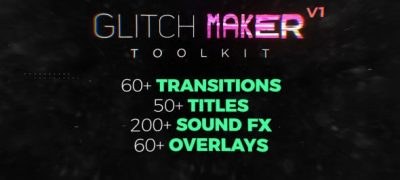 Glitchmaker Toolkit: 350+ Elements