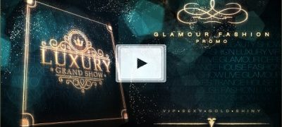 Luxury Grand Show | Glamour Golden Promo