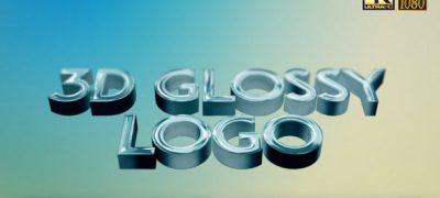 3D Glossy Logo