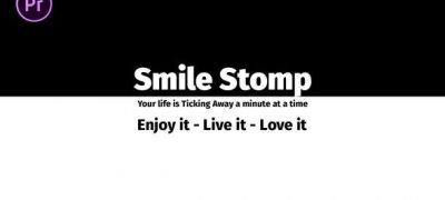 Smile Stomp | Essential Graphics | Mogrt