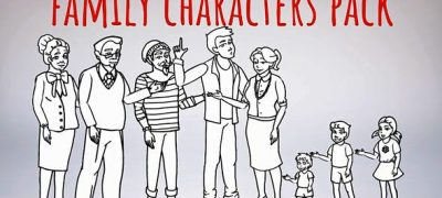 Whiteboard-Characters-Family-Whiteboard