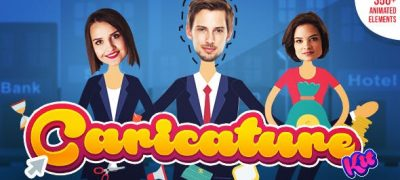 Explainer video toolkit | Caricature Toolkit | Face Cut Out