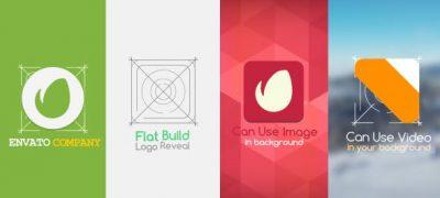 Flat Build Logo Reveal