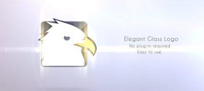 Elegant Glass Logo