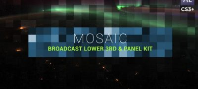 Mosaic Lower Third & Title Kit