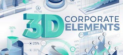 3D Corporate Elements