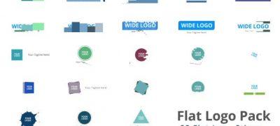 Flat Logo Pack