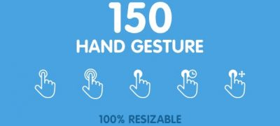 150 Animated Hand Gestures