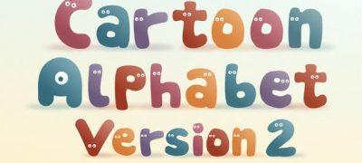 Cartoon Alphabet II | After Effects Template