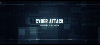 Cyber Attack Military Slideshow