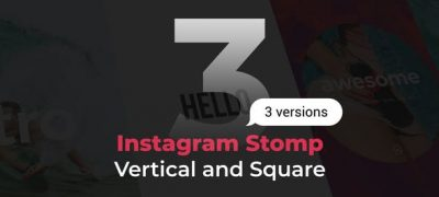 Stomp Instagram 3 in 1 | Vertical and Square