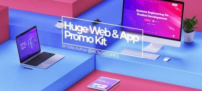 Huge Web Promo & App Promo Kit