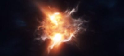 Storm Particles Logo Intro