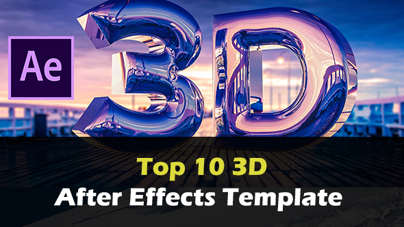 Top 10 FREE 3D After Effects Templates