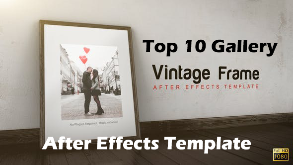 Top 10 Gallery After Effects Templates