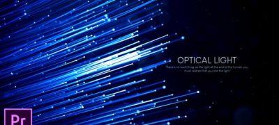 Optical Light Inspiring Titles - Premiere Pro
